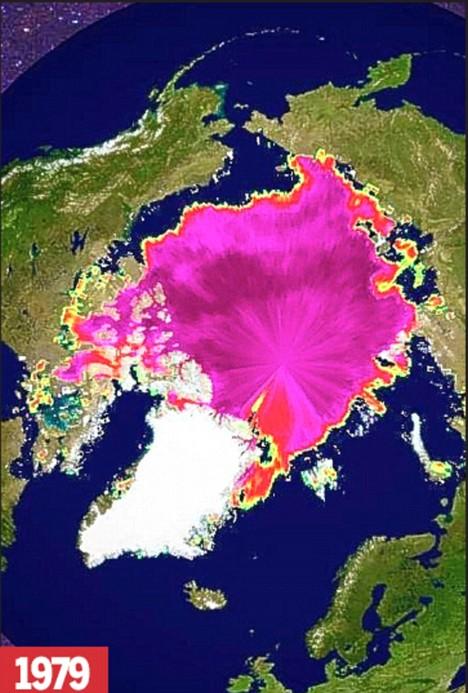 Arctic Ice 1979 NASA Photo