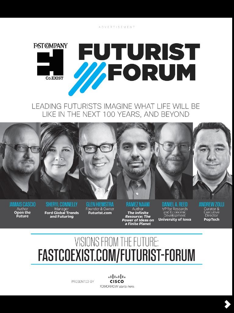 FastCo Futurists