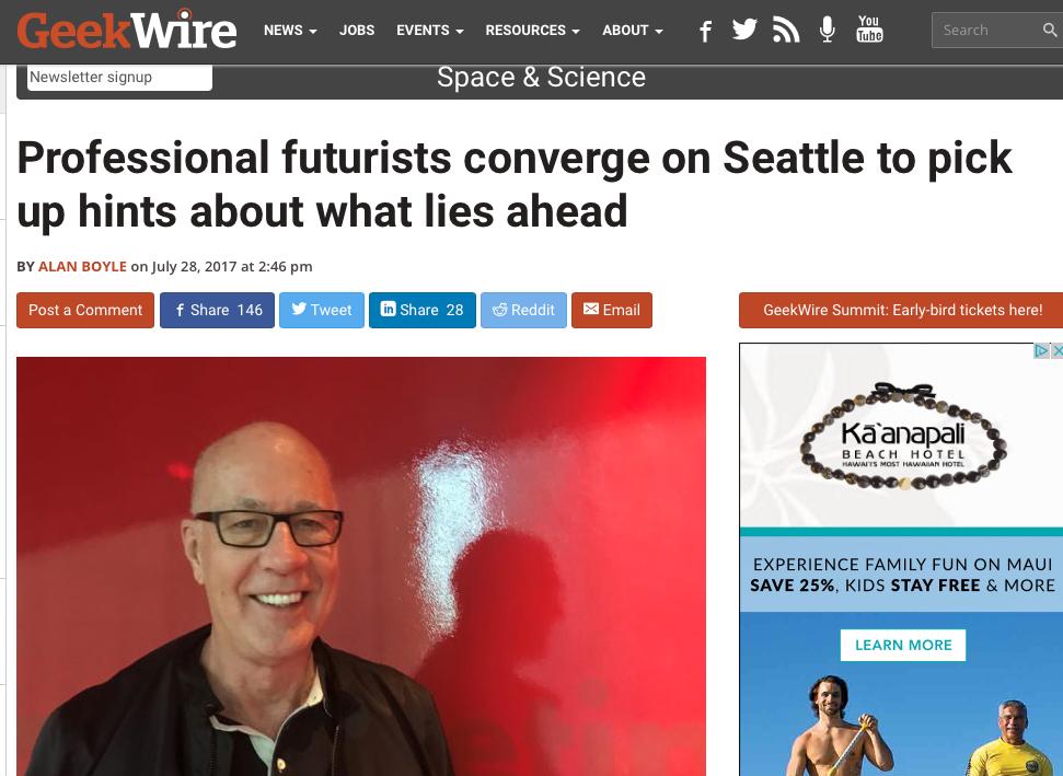 Professional Futurists Look Ahead - Futurist.com: Futurist Speaker Glen Hiemstra